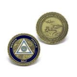 Pièce de monnaie faite sur commande de souvenir d'enjeu de sapeurs-pompiers d'émail