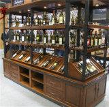 Rotwein-Ausstellungsstand für Speicher