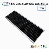 70W PIR 센서 통합 LED 태양 가로등