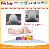 Jeans Top Quality Compétitif Price Disposable Baby Diaper / Baby Pants