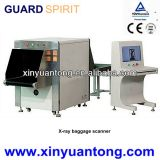 Explorador Xj6550 del bagaje del rayo del ferrocarril X de la máquina del rayo del examen X del equipaje de la alta precisión