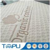 tela que hace tictac del colchón polivinílico del algodón el 60% de 320GSM 40%Organal