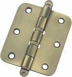 曲がる鋼鉄または鉄のドアまたはWindowsのヒンジ(80X83.1X2.5mm)