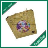 Diseño personalizado bolsa de papel para embalaje con la impresión Juguetes