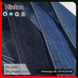 Tessuto blu scuro del Jean dei pantaloni di vendita 10oz della fabbrica del ringrosso del tessuto caldo dei jeans