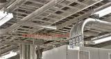 Hot DIP de acero galvanizado de fábrica Sales Outlet Sales Heavy Duty bandeja de cable con clip de cubierta de rodillos que forman la máquina de producción