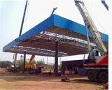 Diseño de la azotea de la gasolinera de la estructura de acero