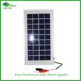 панель солнечных батарей 3W 9V поли для солнечного света лагеря фонарика
