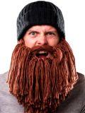 Новые изготовленный на заказ Unisex связанные Hardmade шлем/крышка бороды вязания крючком