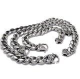 Bracelete Chain de 17.7 homens inoxidáveis do estilo do punk da jóia da polegada