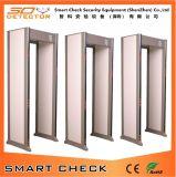 33 Zones Détecteur de métaux de sécurité Détecteur de métaux portatif Walk Through Metal Detector