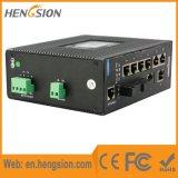 10 de havens beheerden de Industriële Schakelaar van het Netwerk van de Vezel van Ethernet SFP