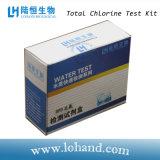 Kit total de la prueba de la clorina para el uso casero y el laboratorio
