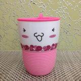 Горячая продавая чашка пластичной крышки втулки силикона продукта керамическая