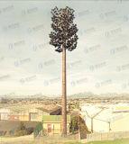 Tour camouflée d'arbre de télécommunication de bâti en acier