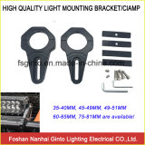 45-49mm halbe heller Stab-Aluminiumhalterung des Schwarz-LED (SGX45)