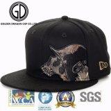 Tampão fresco do Snapback do chapéu novo da era da forma da sarja de Nimes 2017 com bordado