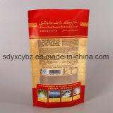 Heißer Verkaufs-Fastfood- mit Reißverschlussbeutel für Nahrungsmittel-/täglich Produkt-Förderung