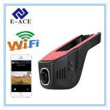 Автоматический автомобиль DVR WiFi видеозаписывающего устройства Dashcam спрятанный миниый с 170 градусами