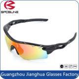 lo sport esterno ha polarizzato 100% anti occhiali da sole UV Eyewear - il nero