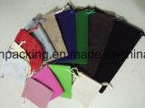 Malote lateral dobro luxuoso macio grosso /Bag da jóia de veludo/saco de /Gift saco dos acessórios