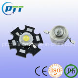 Nous Bridgelux Chip 1W Haute puissance LED, 140-160lm, 5 ans de garantie
