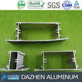Fabricante de aluminio del perfil de Nigeria para el color modificado para requisitos particulares puerta de la talla de la ventana