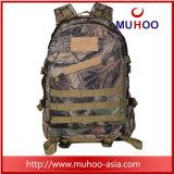 Черный напольный водоустойчивый Duffle Hiking Backpack для людей