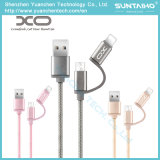 인조 인간 iPhone를 위한 USB 데이터 케이블을 비용을 부과하는 1 USB에 대하여 땋는 2