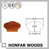 Corrimão da madeira contínua de carvalho vermelho do material de construção para o edifício da escada