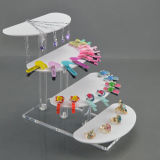 De plastic AcrylHouder van de Vertoning van Juwelen