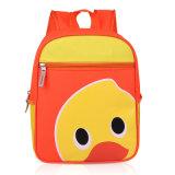 Logotipo personalizado quente do saco de ombro da lona dos desenhos animados do aluno da escola do Sell 2016