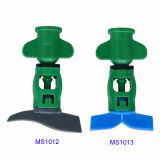 Спринклер Bridgeless зеленого круга закрутки полного микро- для полива Ms1012 парника