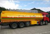 Camion de carburant Sinotruk T5g 10X4 avec réservoir de carburant en aluminium 18000L