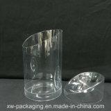 Коробка цилиндра PVC горячей ясности сбывания пластичная