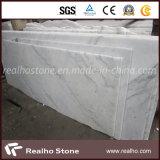 Laje de mármore do branco chinês de Guang Xi para a telha da parede/assoalho