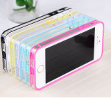 Caso de parachoques al por mayor con los colores dobles para el iPhone 5s
