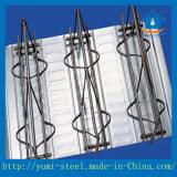 De gegalvaniseerde Bladen van Decking van de Bundel van de Staaf van het Staal voor Onregelmatige Gebouwen