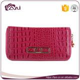 Бумажники крокодила кредитной карточки, бумажник Cowhide способа кожаный для женщин