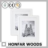 Bâti blanc moderne de photo d'illustration en bois solide pour le studio de photo