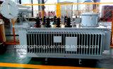 Transformateur d'alimentation immergé dans l'huile triphasé d'appareillage électrique de Voltage Regulation de sur-Chargement