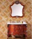 La pintura moderna de madera maciza Sanitaria Ware Gabinete de Baño (GSP14-009)