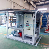 De vacuümdie Machine van de Zuiveringsinstallatie van de Olie van de Transformator in het Hulpkantoor van de Transformator wordt gebruikt