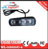 illuminazione esterna infiammante della polizia lineare del modulo di 24V 12V 4 LED