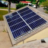 Soluzione legata griglia del sistema energetico del comitato solare per la casa