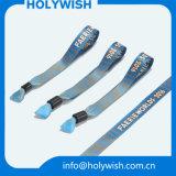 Kundenspezifische Markendesign-Ereigniswristband-Werbegeschenke mit Firmenzeichen