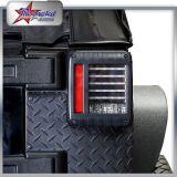 2017 nuevo coche de diseño LED negro y luz roja de la cola, Btr-98 3W luz de cola para Jeep, luz de advertencia de freno