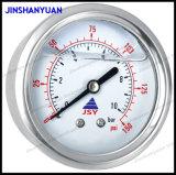 Og-012ステンレス鋼の圧力計かFillableの圧力計または背部エントリ圧力計
