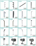 Hohe schaukasten-Schrank-Lichter Pole-2.5W LED Aluminiumfür Jewellry Bildschirmanzeige (SLCG-CG08-1)