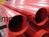 Tubo de aço revestido de resina epóxi